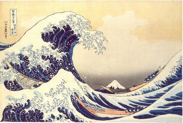 L'arte di Katsushika Hokusai in mostra a Roma