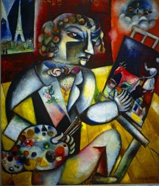 A Parigi Chagall tra guerra e pace