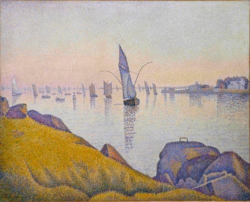 Paul Signac e i colori dell'acqua
