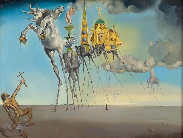 Salvador Dalí è di scena a Madrid