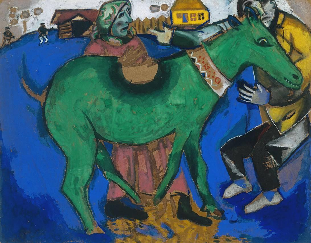 Liverpool, Chagall maestro del Moderno