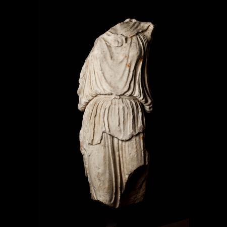 Athena Nike e i marmi greci esposti a Roma