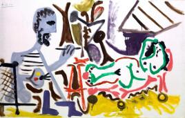 Gli autoritratti di Picasso in mostra a Barcellona