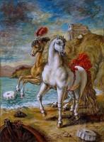 Giorgio De Chirico è ospite del castello di Otranto