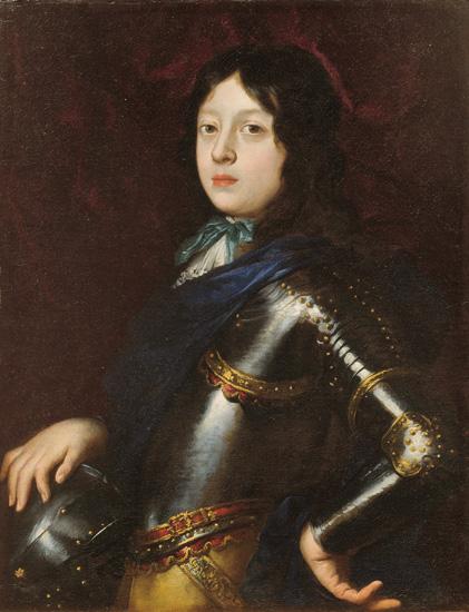 Ritratto del Gran Principe da giovinetto, armato