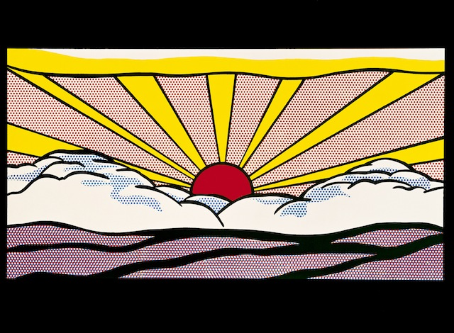 Roy Lichtenstein è in retrospettiva a Parigi