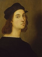 Perugino e Raffaello in posa per Sassoferrato