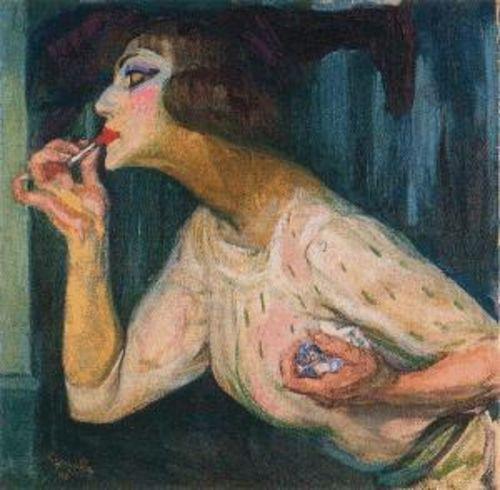 "Frantisek Kupka, ""Il rossetto"", 1908. © Centre Pompidou, Parigi."