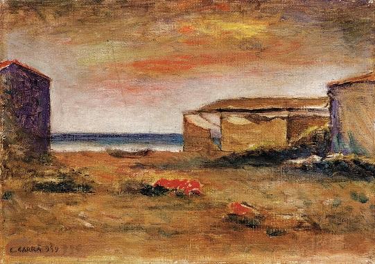 A Mendrisio in mostra i paesaggi di Carrà