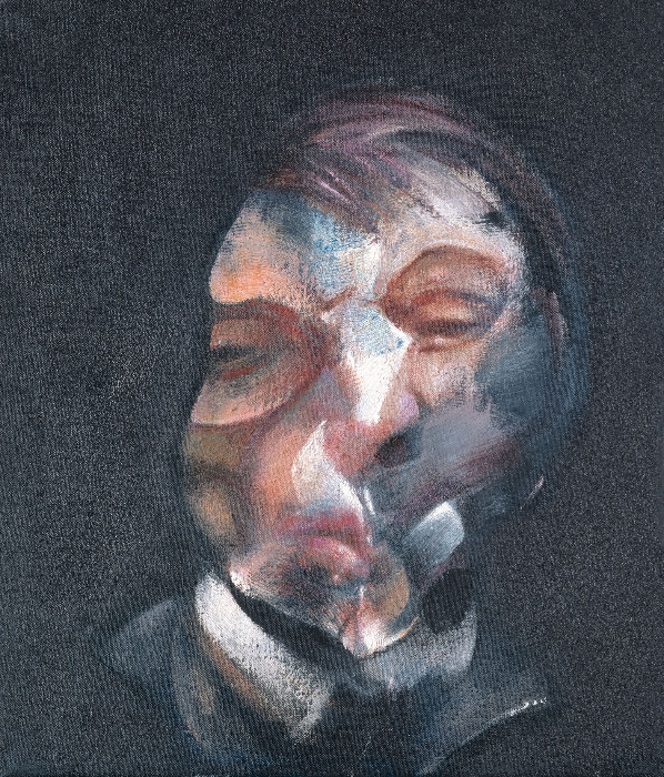 "Francis Bacon, ""Autoritratto"", 1971. © Centre Pompidou, Parigi."