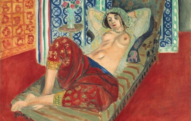 "Henri Matisse, ""Odalisca con i pantaloni rossi"", 1921. © Centre Pompidou, Parigi."
