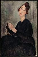 """Amedeo Modigliani, """"Ritratto di Dédie"""", 1918. © Centre Pompidou, Parigi."""