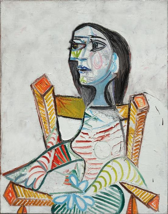 """Pablo Picasso, """"Ritratto di donna"""", 1938. © Centre Pompidou, Parigi."""