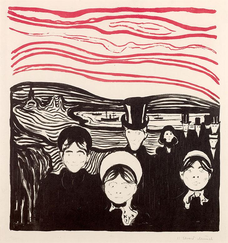 A Zurigo sono esposte le incisioni di Munch