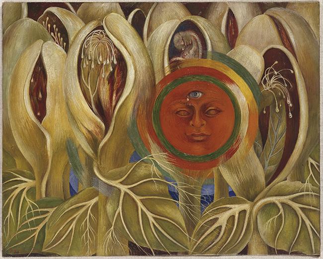 Frida Kahlo e Diego Rivera insieme all'Orangerie di Parigi