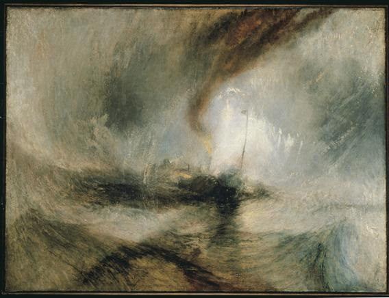 Londra, William Turner e l'amore per il mare
