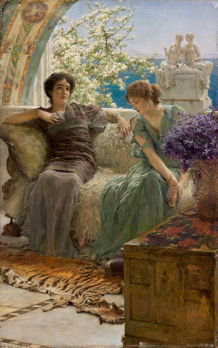 2Alma-Tadema e i pittori dell'800 inglese