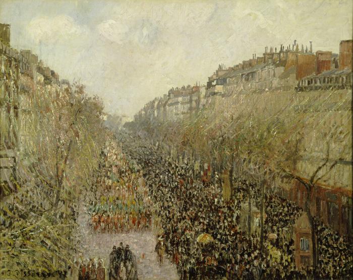 Pissarro approda in mostra a Pavia