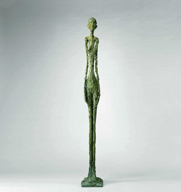 La scultura di Giacometti è in mostra a Roma