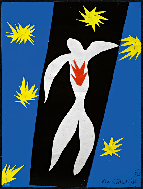 the fall of icarus 1943 matisse