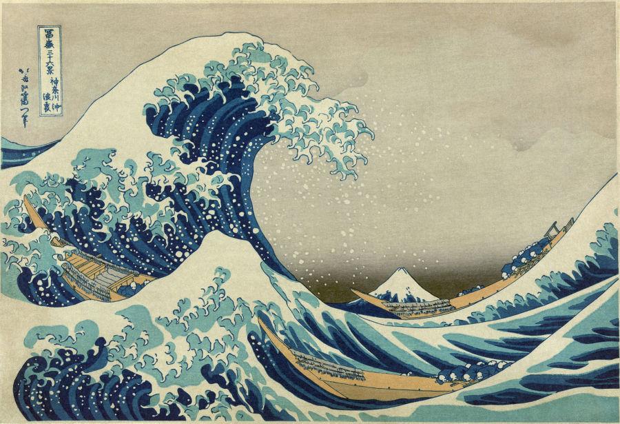 Hokusai è ospite di Parigi