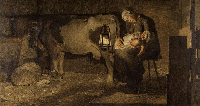 Giovanni Segantini è di scena nella sua Milano