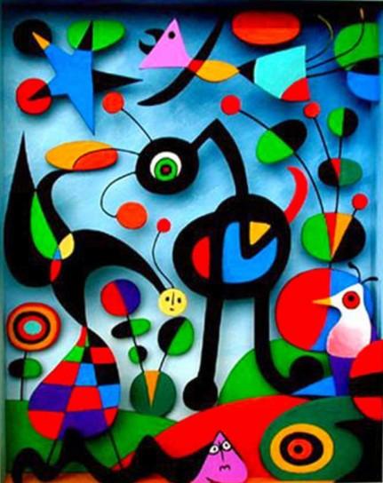A Mantova l'impulso creativo di Miró